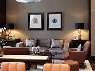 Business Lounge Grandhotel Schloss Bensberg MARKUS HILZINGER Moderne Hotels
