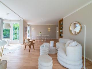 Münchner home staging Agentur GESCHKA Salon classique Beige