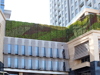 Beta Landscape Indonesia Modern hotels Aluminium/Zinc Multicolored