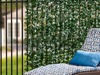 Faux Ivy Screen Rolls Sunwing Industries Ltd Bungalows Plastic Green