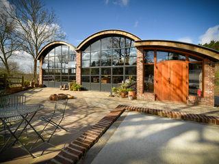 Sedlescombe Vineyard, East Sussex Clement Windows Group Espaços comerciais eclécticos Metal