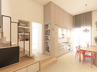 Appartamento Napoli Centro arch. Lorenzo Criscitiello Cucina piccola
