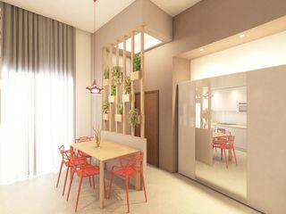 Appartamento Napoli Centro arch. Lorenzo Criscitiello Sala da pranzo moderna