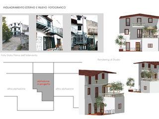 Report Esempio_Progetto a Distanza: Casa Lm . antonio felicetti architettura & interior design Casa di campagna