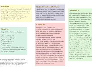 Report Esempio 2_Progetto a Distanza: La Casa di Marmo antonio felicetti architettura & interior design