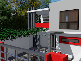 Dacsa Reynosa Multi-Family house Concrete Beige