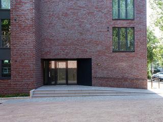 Vierländer Damm Munder und Erzepky Landschaftsarchitekten Moderne Bürogebäude