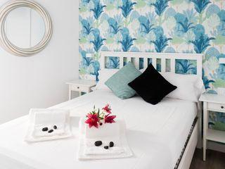 Estudio RYD, S.L. BedroomBeds & headboards Wood White