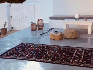 studio patrocchi Balcon, Veranda & Terrasse méditerranéens