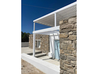 studio patrocchi Balcon, Veranda & Terrasse minimalistes