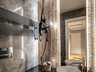 MOB ARCHITECTS Moderne badkamers
