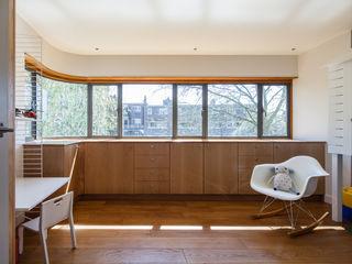 Private Residence, London Clement Windows Group Janelas e portas modernas Ferro/Aço