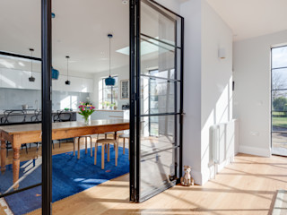 Private Residence, Cambridge Clement Windows Group Janelas e portas modernas Ferro/Aço