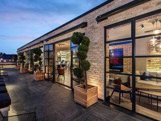 Twickenham Film Studios, London Clement Windows Group Espaços comerciais modernos Ferro/Aço