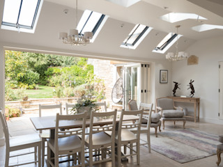 Conservation Rooflights at Private Residence, Peterborough Clement Windows Group Clarabóias Metal