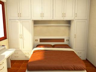 Armadio a ponte Falegnamerie Design Camera da letto in stile classico Legno Beige