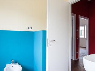 WBA Ванная комната в эклектичном стиле