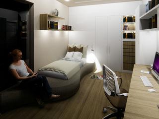 CARLO CHIAPPANI interior designer Kleines Schlafzimmer