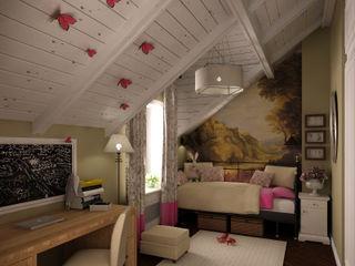 Новая Рига STUDIO 57 Детская комнатa в стиле кантри