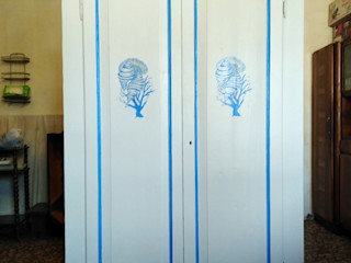 Restauro armadio della nonna Dilegno InLegno Camera da lettoArmadi & Cassettiere