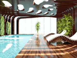 Parametric Pool THINK NATURE Debbie Flevotomou Architects Ltd. Swimming pond
