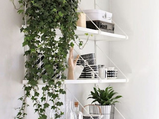 Interior/ Exterior Artificial Hanging Plants Sunwing Industries Ltd Sala de estarAcessórios e Decoração Sintético Verde