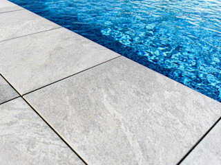 ROMESUR Modern Pool Ceramic Grey