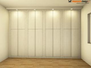 Armadio a muro con illuminazione Falegnamerie Design