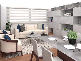 Sala y comedor Shirley Palomino HogarAccesorios y decoración Madera Azul