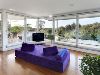 LE.ALL.FER. S.r.l. Wooden windows Engineered Wood White