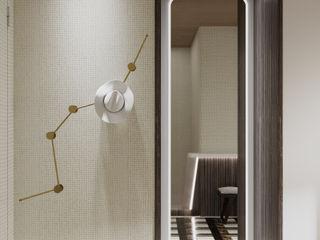East meets West MD Creative Lab - Architettura & Design Ingresso, Corridoio & Scale in stile asiatico
