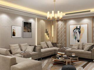 كاسل للإستشارات الهندسية وأعمال الديكور والتشطيبات العامة Walls & flooringPictures & frames Sandstone Beige