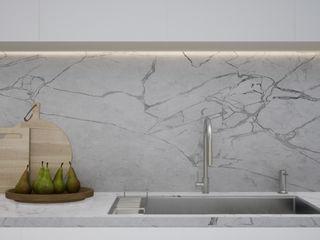 Escala Absoluta 現代廚房設計點子、靈感&圖片 White