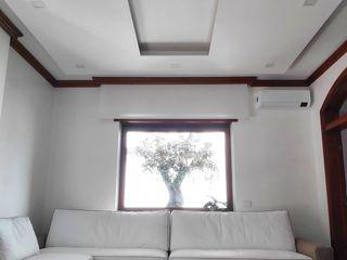 Dr-Z Architects Livings modernos: Ideas, imágenes y decoración Madera maciza Blanco