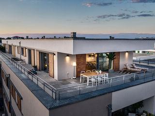 Home Staging Bavaria Balconies, verandas & terraces Lighting Beige