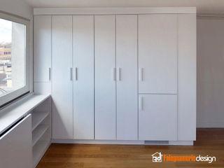 Cucina moderna a scomparsa Falegnamerie Design