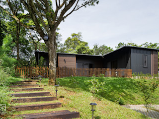 禾廊室內設計 Rumah pedesaan