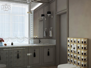 Bathroom Inspirations from LUXURY CHANDELIER Luxury Chandelier LTD BadezimmerBeleuchtungen Kupfer/Bronze/Messing Schwarz