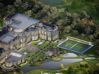 Mansion in Prestigious Architecture and Landscape Design IONS DESIGN วิลล่า หิน White