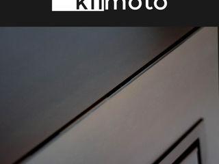 kiimoto Kamin in Stahl kiimoto kamine WohnzimmerKamin und Zubehör Eisen/Stahl Metallic/Silber