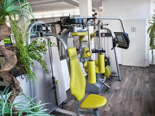 Reha- und Fitness-Studio Raumblüte Moderner Fitnessraum