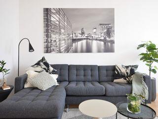 Homestaging Raumblüte WohnzimmerSofas und Sessel