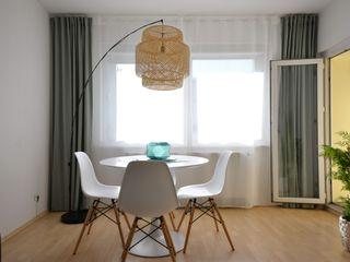 Homestaging Raumblüte EsszimmerStühle und Bänke