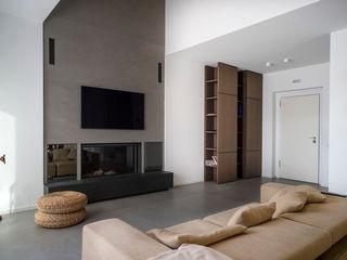 Villa S+S Fabricamus - Architettura e Ingegneria Soggiorno minimalista