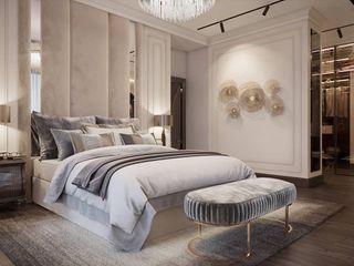 كاسل للإستشارات الهندسية وأعمال الديكور والتشطيبات العامة Small bedroom Solid Wood Black