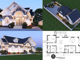 15 ý tưởng thiết kế bản vẽ nhà cấp 4 mái thái đẹp giá rẻ NEOHouse