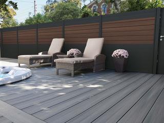 Exclusieve tuinproducten Modern garden Engineered Wood Brown