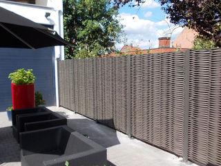 Exclusieve tuinproducten Garden Fencing & walls Engineered Wood Grey