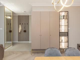 Pracownia Architektury Wnętrz Decoroom Couloir, entrée, escaliers originaux
