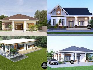 10 mẫu thiết kế nhà cấp 4 nông thông hiện đại kiểu mái thái NEOHouse
